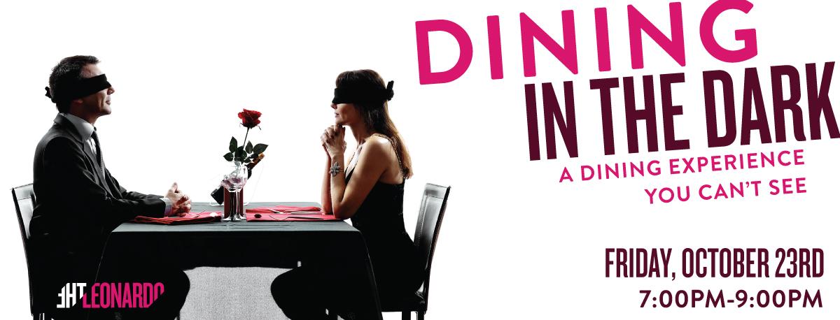 dining in the dark the leonardo