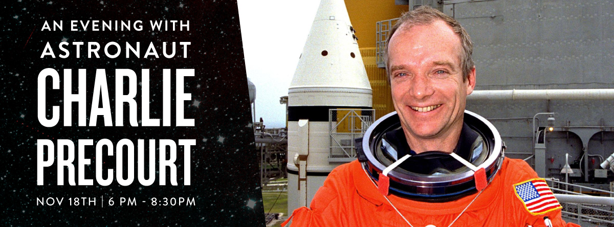 Astronaut Charlie Precourt At The Leonardo Museum